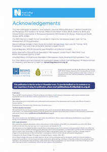 The Royal College Of Nursing-Menopause-RCN_guidance_for_nurses_midwives_health_visitors ACKNOWLEDGMENTS