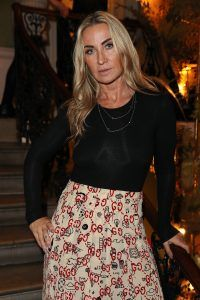Meg Matthews attends Sylk Talks Menopause event held at House of Barnabus in London, UK